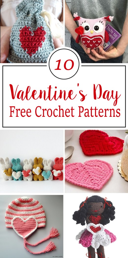 Free Crochet Patterns For Valentine's Day 4