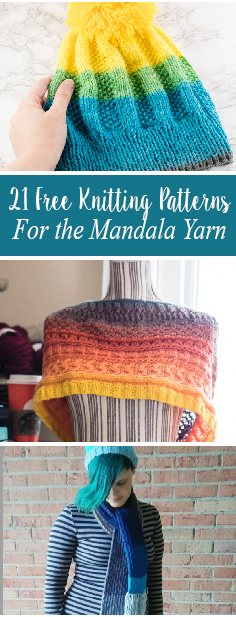 Free Knitting Patterns For The Mandala Yarn Crafty Tutorials Delectable Mandala Yarn Patterns