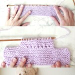 easy knit baby booties