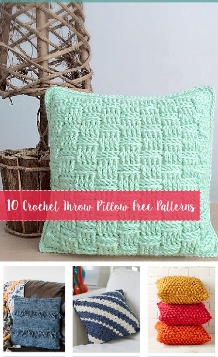 Crochet Throw Pillow Free Patterns 2