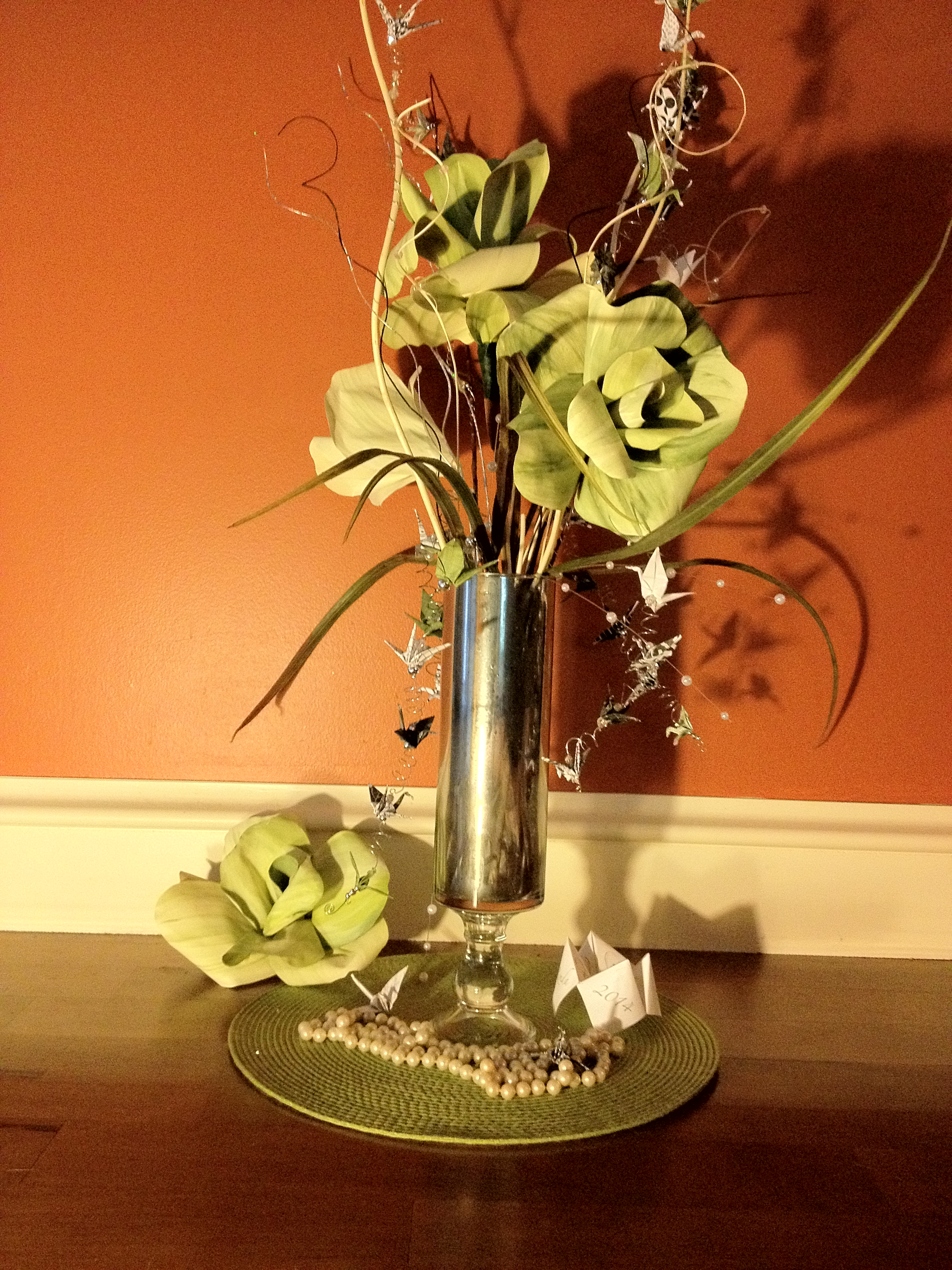 Cheap Centerpieces Crafty Wedding