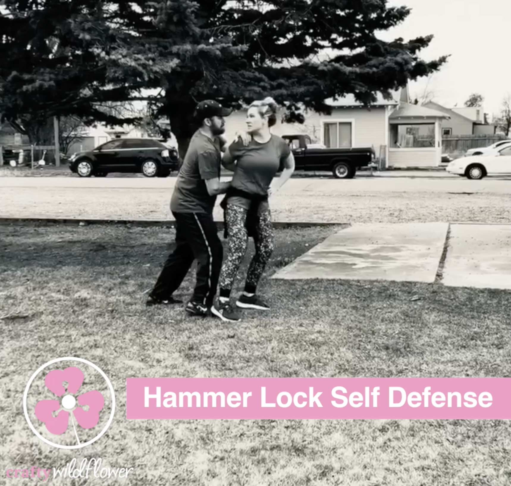 Hammer Lock Self Defense - CraftyWildflower.com