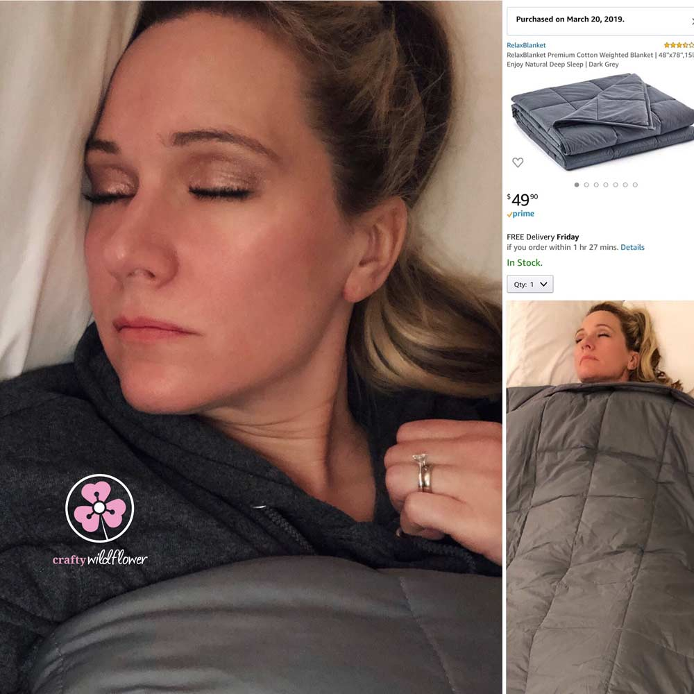 Weighted Blanket Review – Wellness Wednesday