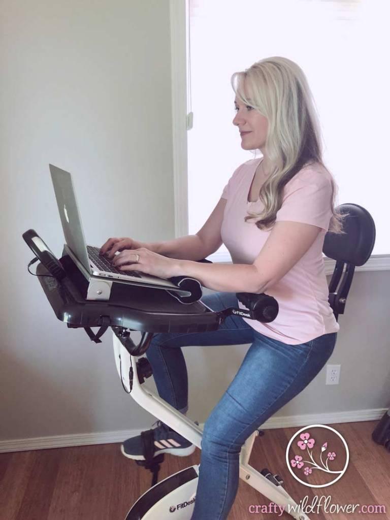 Wellness Wednesday -Fitdesk Working Exercise Bike Desk