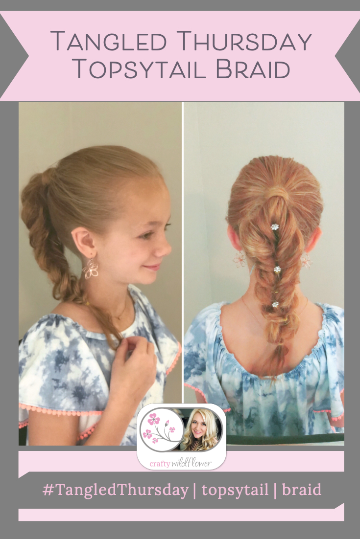 Tangled Thursday - Topsytail Braid