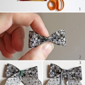 How to make Ribbon Bookmark