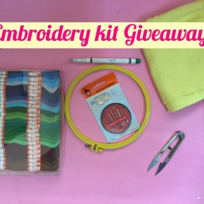 Give Away !!!- Embroidery Kit