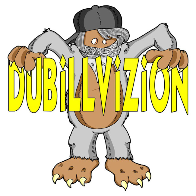 Promotional image for DUBiLLViZiON's music profile.