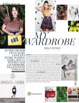 Design and layout for Marie Claire SA magazine. Published in their September 2016 edition