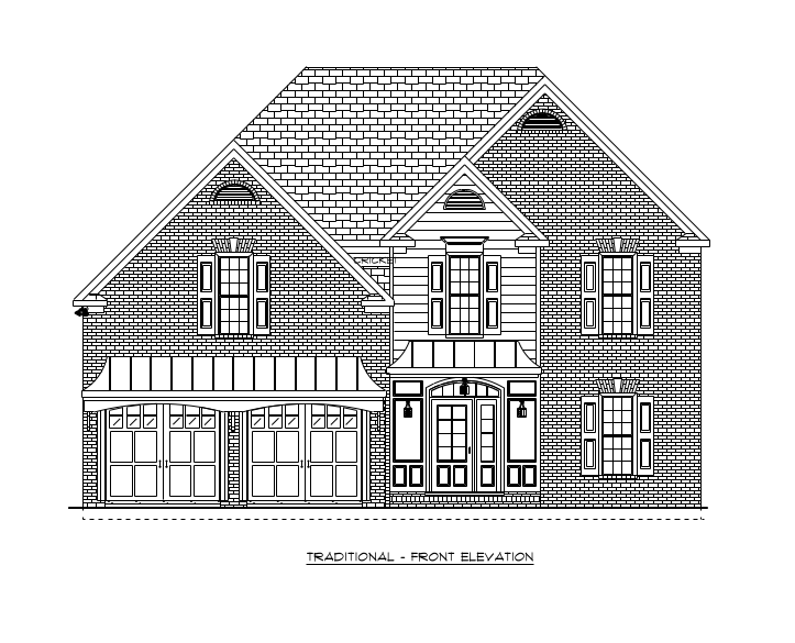 Chesapeake Front Elevation