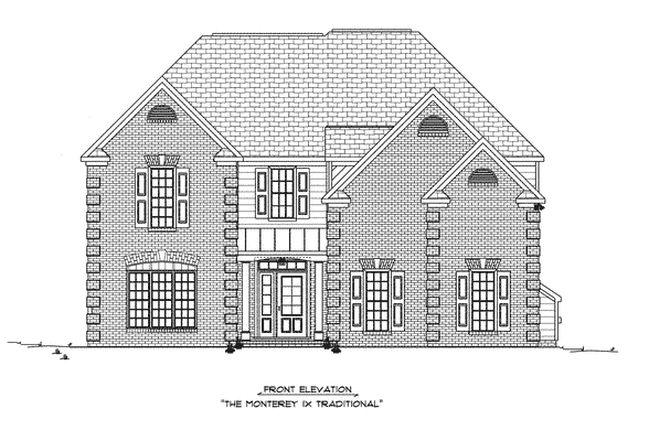 craig-builders-MONTREY-FRONT-ELEV-TRADITIONAL