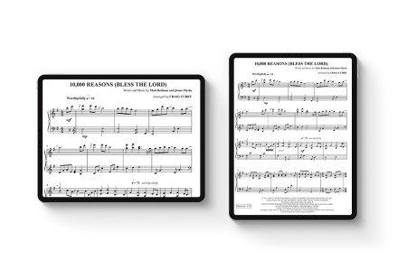 iPad Sheet Music illustration