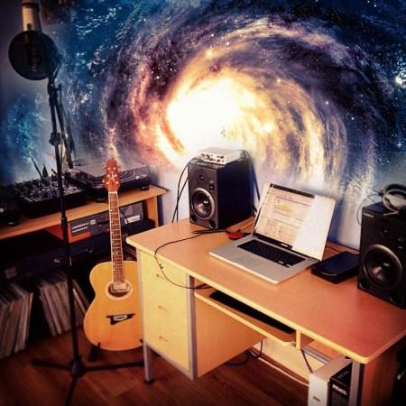 Studio in space