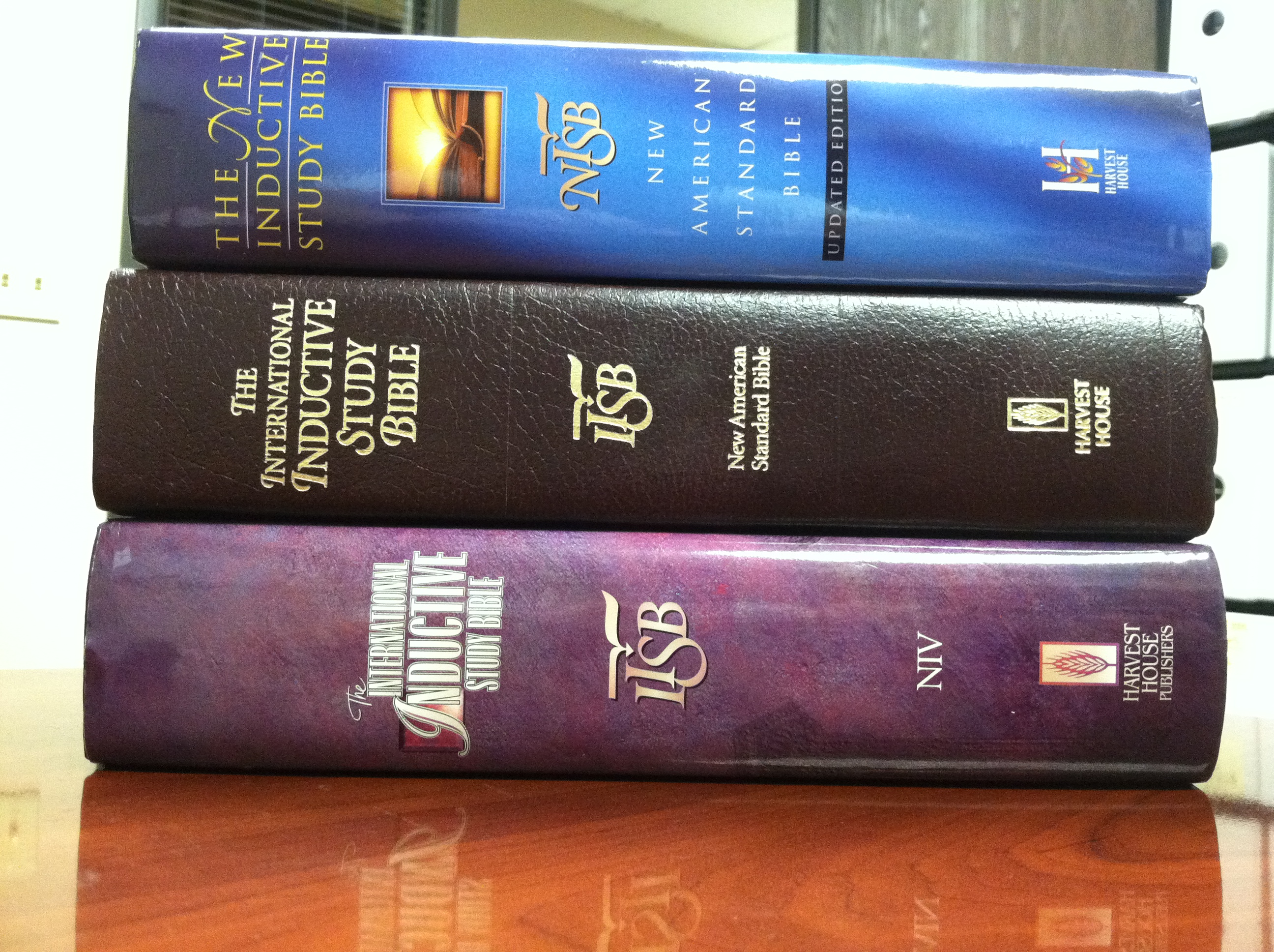Harvest House Publishers The New Inductive Study Bible