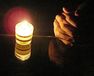 prayer&candle