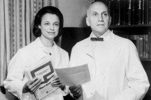 William H. Masters & Virginia Johnson (Bettmann/Corbis)
