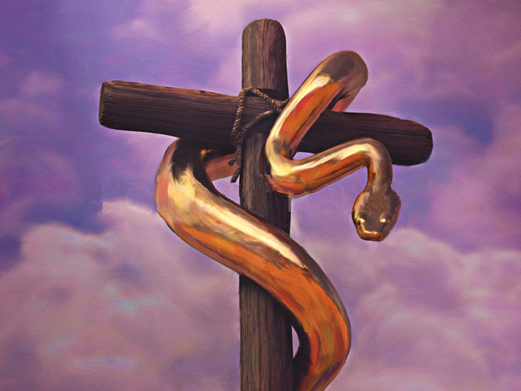 Image result for bronze serpent moses