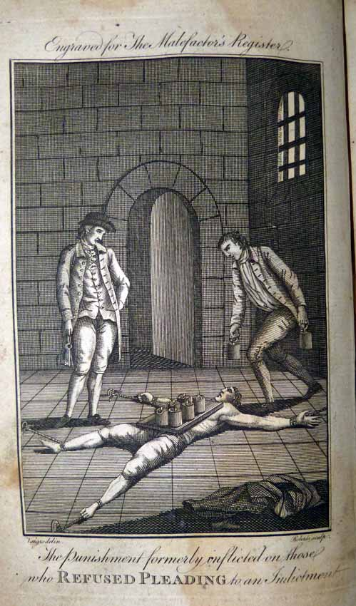 engraving_for_the_malefactors_register_the_punishment_formerly_inflicted_on_those_who_refused_pleading_to_an_indictment