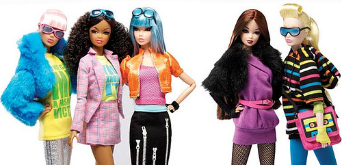 The Dynamite Girls Electropop Collection: Aria, Dayle, Rufus Blue, Sooki, and Jasper