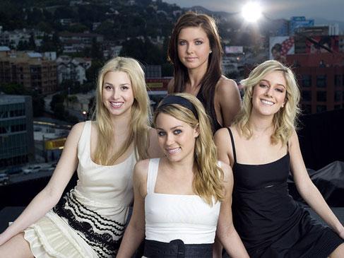 The Hills: Whitney, Lauren, Audrina, and Heidi