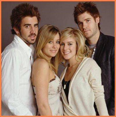 The Hills: Jason, Lauren, Heidi, and Heidi's boyfriend at the time