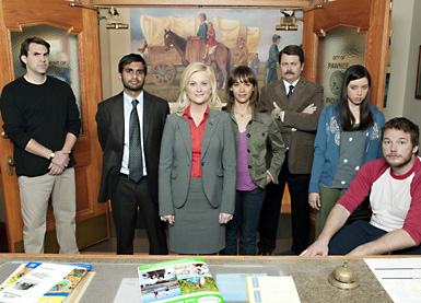 The cast of Parks and Recreation