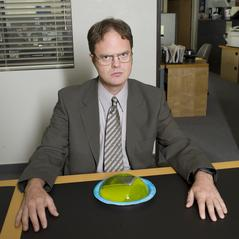 Rainn Wilson as Dwight Schrute