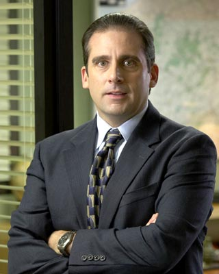 Steve Carell as Michael Scott
