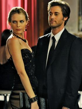 Jen (Sara Foster) and Ryan (Ryan Eggold) at prom
