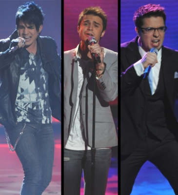 The Final 3: Adam Lambert, Kris Allen, & Danny Gokey