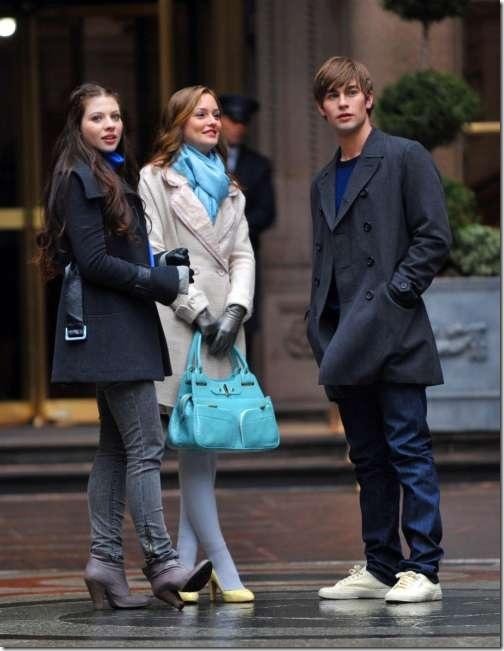Georgina, Blair, and Nate