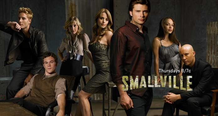 The cast of Smallville