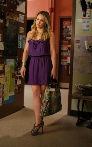 Hilary Duff as Olivia Burke