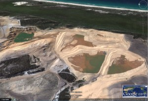 Sand mining is set to finish in 2019 - what next?