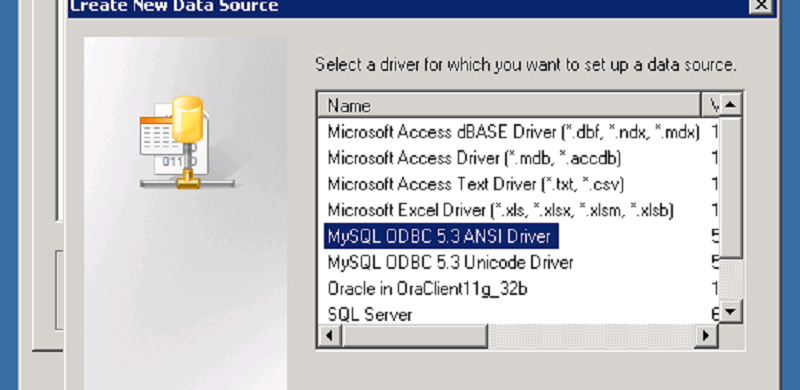 MySQL SSRS Datasource in SharePoint 2010