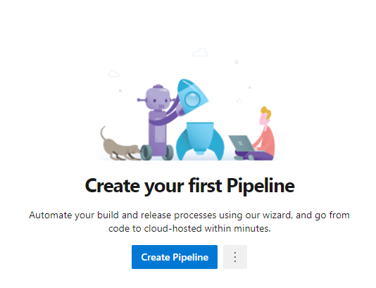 New Pipeline page