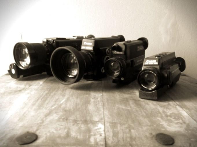 Canon Super 8mm Cameras