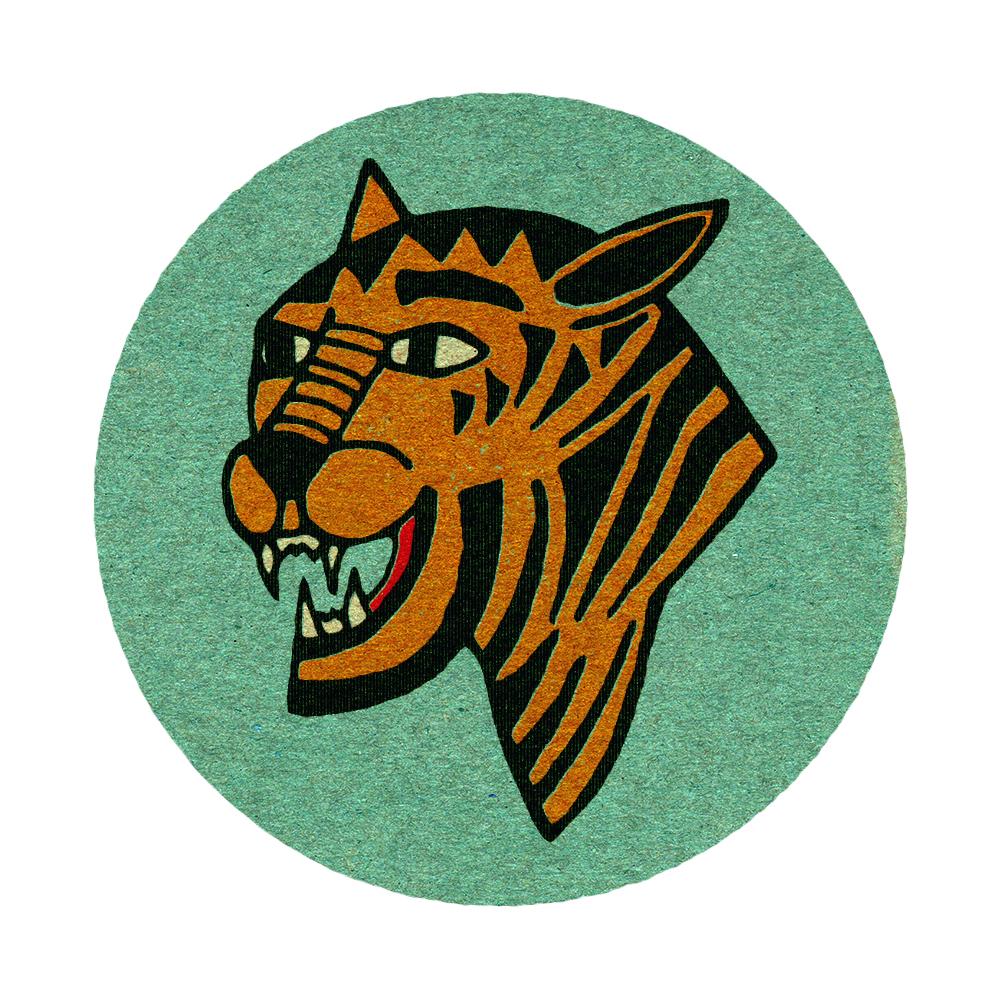 Eye of the Tiger - Vintage Matchbook design.