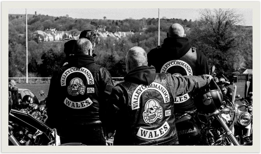 Valley Commandos Motorcycle Club. Wales largest 1% Bike Club.