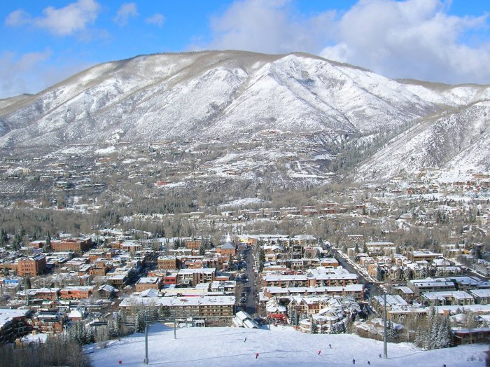 Aspen is a mecca for skiers with four resorts close to town.