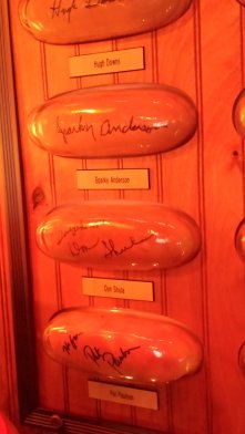 An eclectic assortment of celebrities have eaten at Tony Packo's and signed buns that decorate the walls. Craigslegz.com
