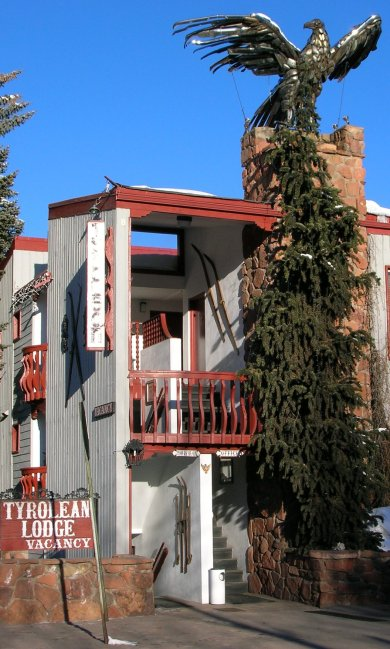 The Tyrolean Lodge offers good value in a prime location in Aspen, Colo., with a distinctive charm that sets it apart. Craigslegz.com.