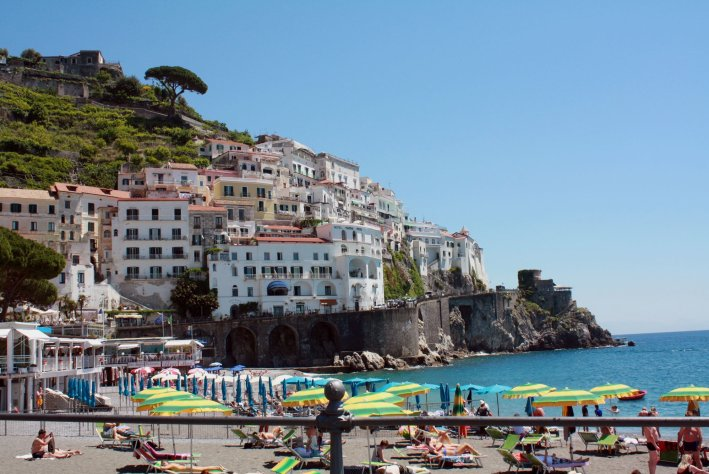 The city of Amalfi is a popular seaside resort on the coast of southern Italy. Craigslegz.com