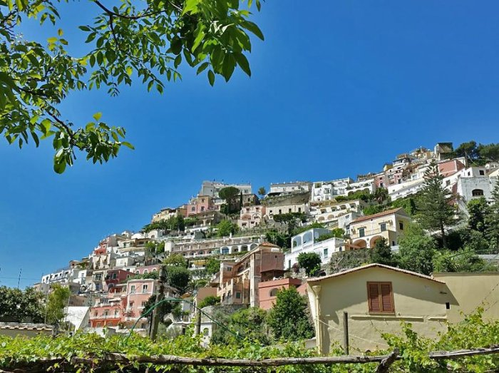 Positano is one of the picturesque towns built on cliffs overlooking Italy's Amalfi Coast. Craigslegz.com