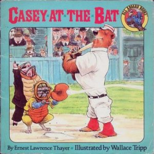 """This illustrated version of """"Casey at the Bat"""" for kids got Allison hooked on baseball."""