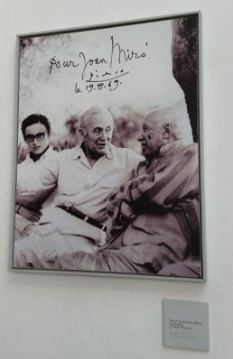 Artists and long-time friends Joan Miro and Pablo Picasso visited Soller together in the 1960s. Craigslegz.com