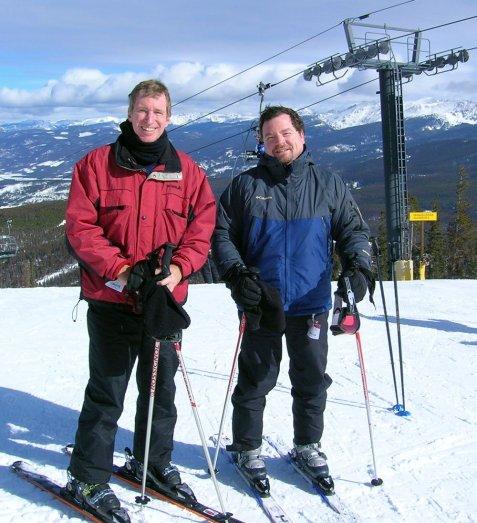craig-davis-wally-rutherford-colorado-ski