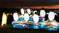 Lights bring animals to life at the Chinese Lantern Festival in Boca Raton. (Craig Davis/Cragislegz.com