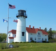 Chatham Lighthouse, overlooking the beach and harbor, is one of Cape Cod's most recognizable attractions. (Craig Davis/Craigslegz.com)