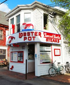 The Lobster Pot in Provincetown is one of the premier lobster restaurants on Cape Cod. (Craig Davis/Craigslegz.com)